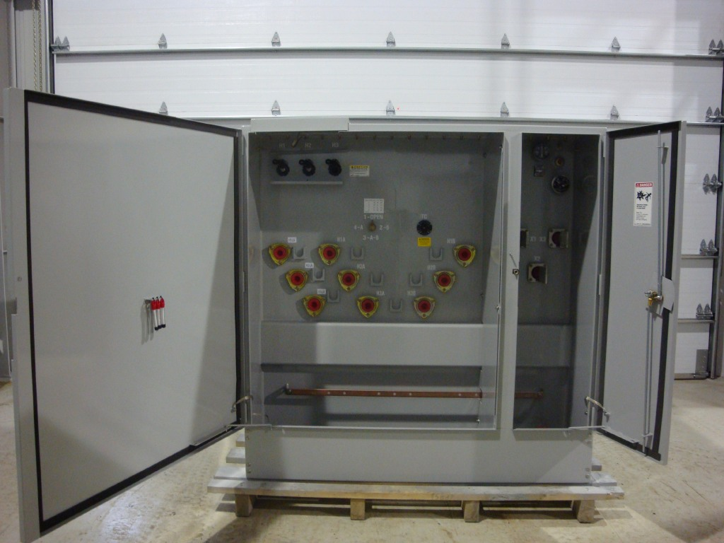 Three Phase Pad Mounted Transformers