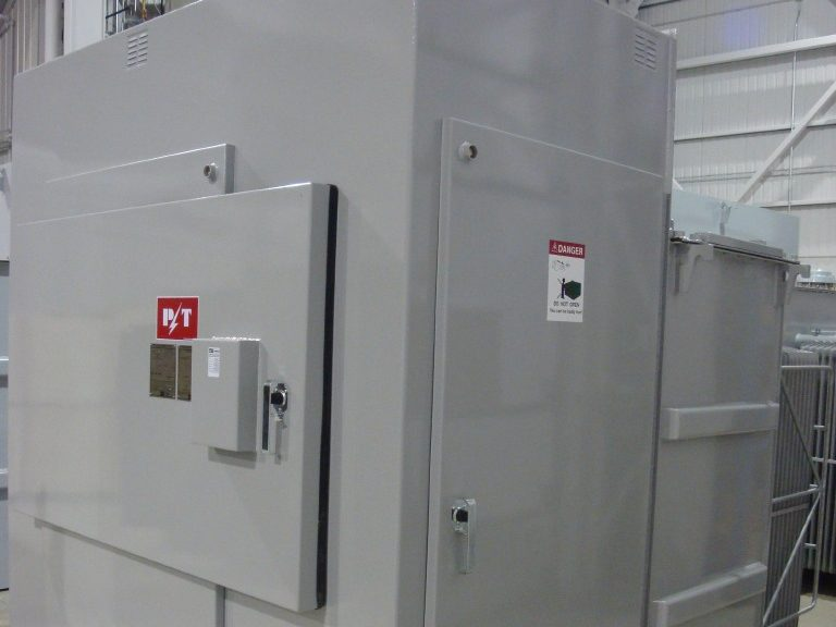 Unitized pad-mounted transformers